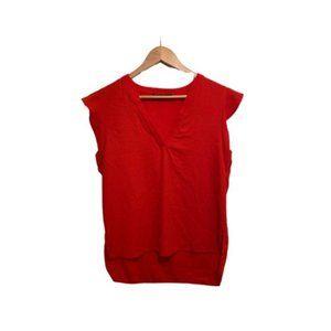 Zara Capped Sleeve Blouse